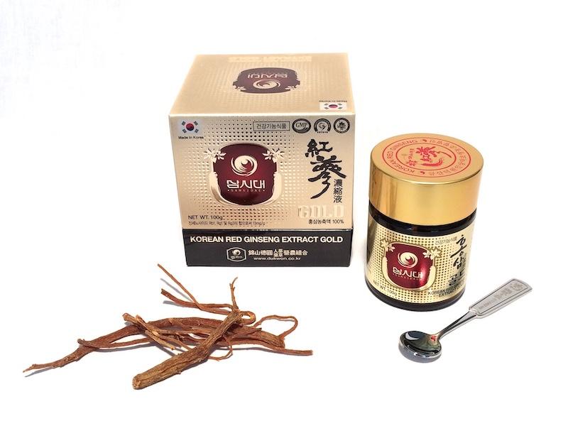 Korean Red Ginseng Extract Gold bottle 100g - Ginseng Premium