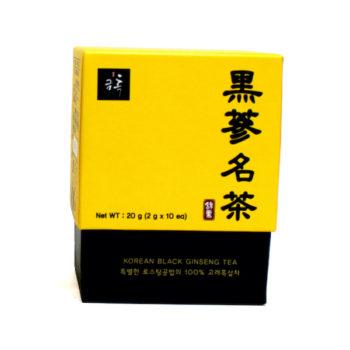 Thé Ginseng Noir Coréen 10 sachets boite 800x600