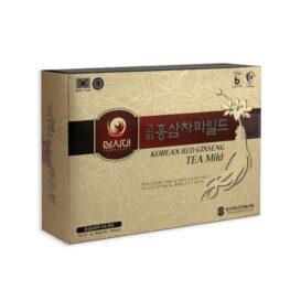 Boîte de thé au ginseng rouge coréen